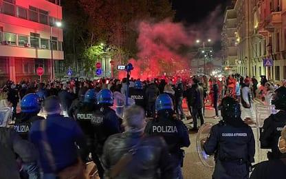 Dpcm:tensione a Pescara,centinaia in corteo verso Prefettura