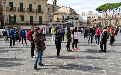 Dpcm: mondo sport protesta in piazza a Lanciano
