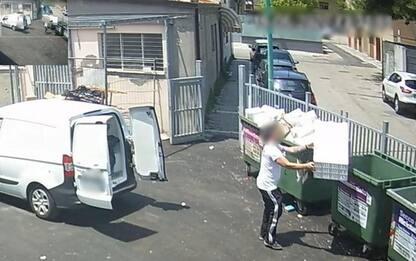 Piano anti-degrado a Pescara,151 multe per rifiuti in strada
