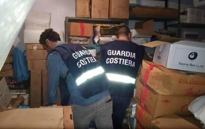 Guardia Costiera sequestra 1.620 kg di pesce
