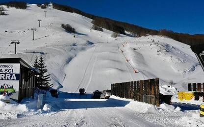 Delusione Roccaraso,100 km piste piene di neve, zero turisti