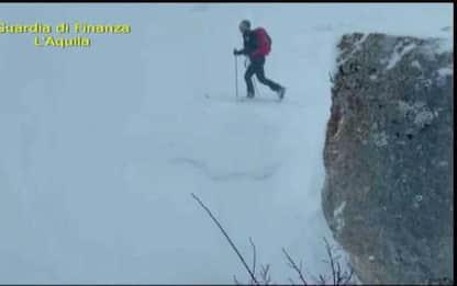Dispersi sul Velino: neve,nebbia e vento, interrotte ricerche