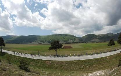 Giro: Abruzzo in rosa per tre giorni, parchi e montagna