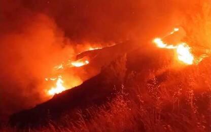 Incendi: rogo doloso a Castellalto