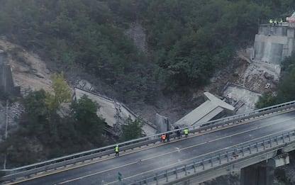 A24: demolizione controllata del Viadotto Cerqueta