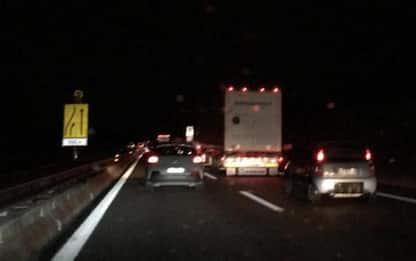 A14, chiusure notturne entrata Teramo Giulianova