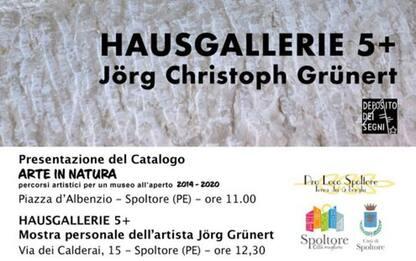 Arte: Hausegallerie di Jorg Grunert a Spoltore