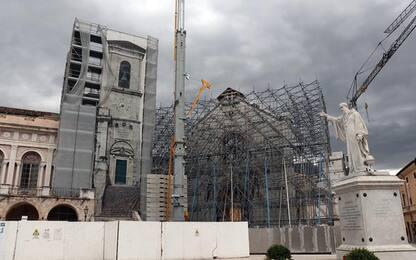 Slittano tempi per progetto Basilica Norcia