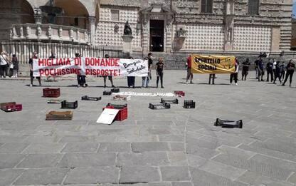 Presidio Comitato Spesa Solidale a Perugia