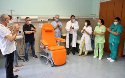 Poltrona chemioterapia a ospedale Terni