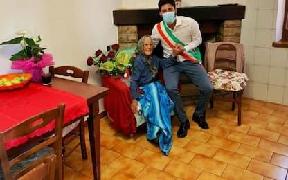 Montecchio festeggia 108 anni 'Marietta'
