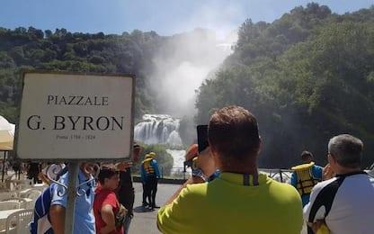 Anticipata apertura cascata Marmore