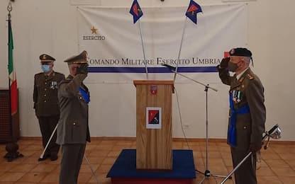 Cambio al vertice Comando militare Umbria