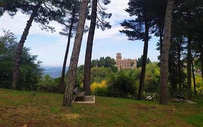 Castel Viscardo punta a parco del Pinaro luogo del cuore Fai