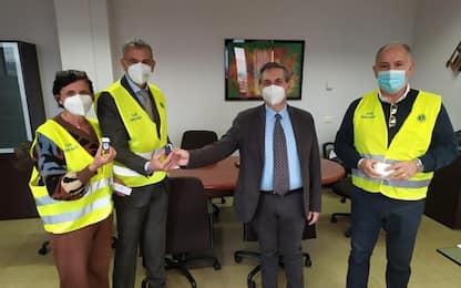 Covid, 50 saturimetri donati da Lions club a Usl Umbria 2