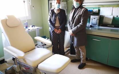 Donazione Barbanera all'ospedale di Foligno
