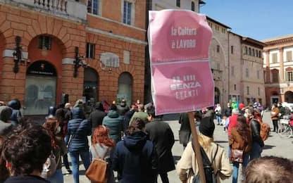 Spettacolo, protesta a Foligno contro il bando del Comune
