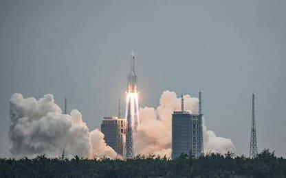 Umbria tra possibili aree caduta frammenti razzo cinese