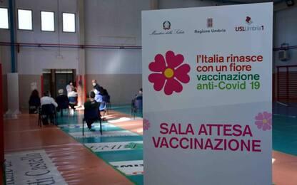 Al via mercoledì la vaccinazione degli over 60 in Umbria