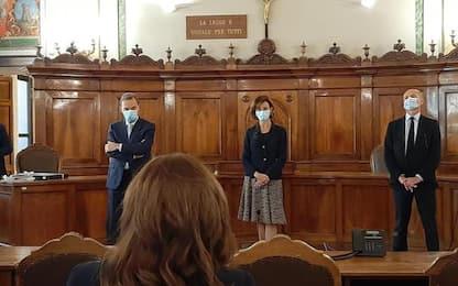 Ministra Cartabia incontra vertici Uffici giudiziari Umbria