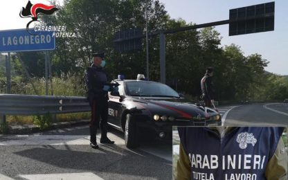Coronavirus: controlli dei Carabinieri in numerose aziende