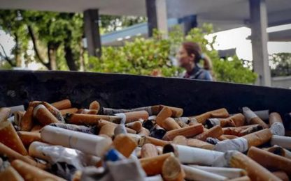 Salute: da domani stop alle sigarette al Crob di Rionero