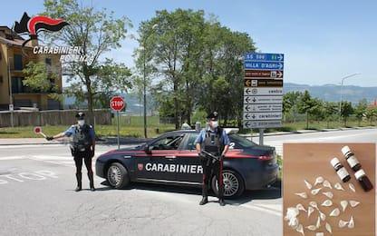 Ha 10 grammi di eroina, arrestato a Villa d'Agri