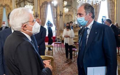 Ieri Bardi al Quirinale dal Presidente Mattarella