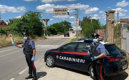Obbligo di soggiorno a Canosa, ma è a Lavello: arrestato