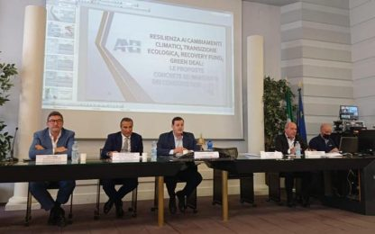 Acqua: progetti Anbi, 4,3 mld euro con il Recovery fund