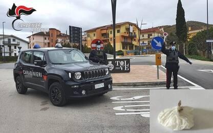 Cocaina nascosta nel 'codino', arrestato dai Carabinieri