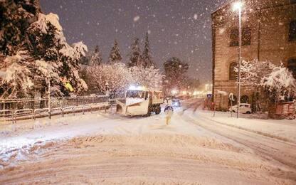 Maltempo: neve nel Potentino, domani scuole chiuse a Potenza