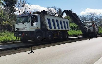 Potenza-Melfi: via ai lavori per il nuovo asfalto