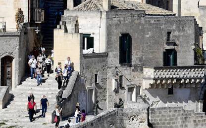 Turismo: nei Sassi di Matera lavori sui percorsi pedonali