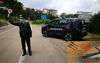 Controlli dei Carabinieri nel Potentino, 13 denunciati