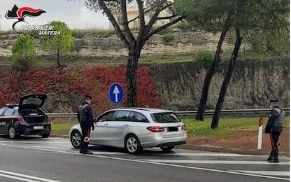 Evade dai domiciliari, arrestato dai Carabinieri a Matera