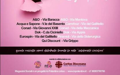 """A Potenza la """"Colletta"""" si fa rosa, dedicata alle donne"""