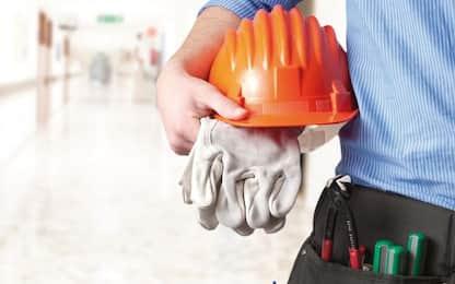 Incidenti lavoro: controlli in 5 cantieri, tutti irregolari