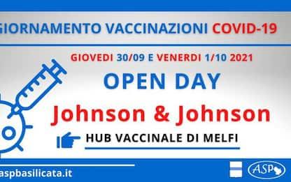 Vaccini: a Melfi riprendono gli Open day con 'J&J'