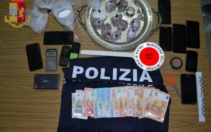 In casa spacciano droga, due arresti ad Altamura