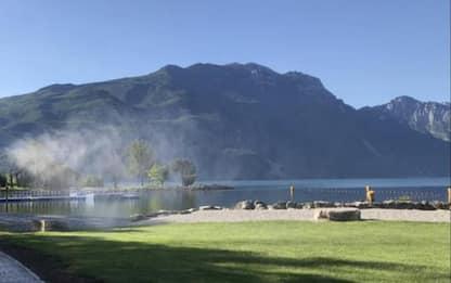 Fase 2: test di sanificazione su spiaggia Riva del Garda