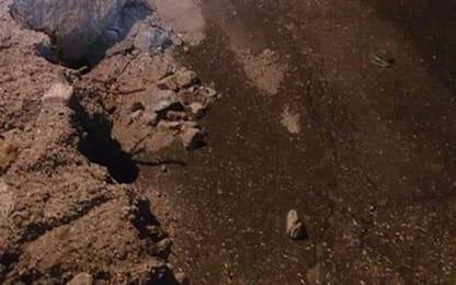 Maltempo: frana di fango a Vandoies di sopra