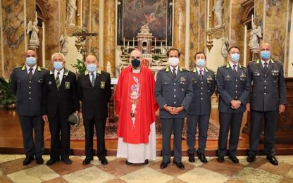 Gdf: festeggiato a Trento patrono S.Matteo
