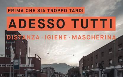 Covid: Bolzano, campagna sensibilizzazione con foto lockdown