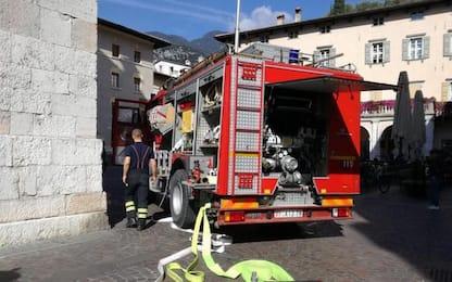 Incendi: ancora un fienile in fiamme in val Venosta