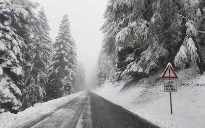 Maltempo: in arrivo 1,5 metri di neve in Alto Adige