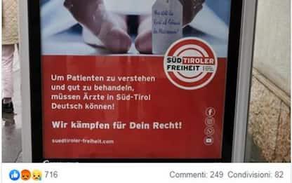 Alto Adige: procura chiede rinvio Klotz per manifesto choc