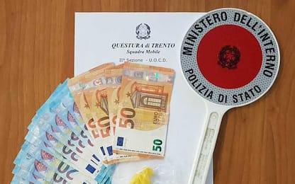 Droga: un arresto a Trento e una denuncia a Gardolo