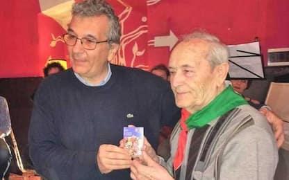 Resistenza: partigiano Bruno Zito morto all'età di 99 anni