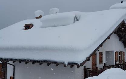 Neve torna a bassa quota in Alto Adige